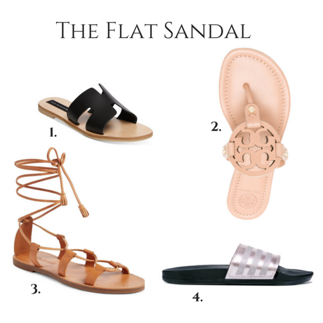 The Flat Sandals (2)
